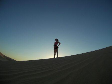 2 heures de running dans le désert de Dubai