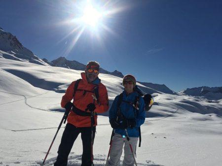 Anne-Catherine Péchinot, découverte du ski de randonnée